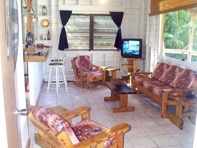 Surfer Shack living room