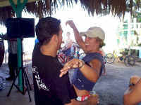 The owners dance at Tamboo
